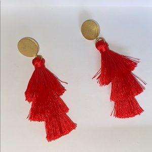JCrew tassle earrings